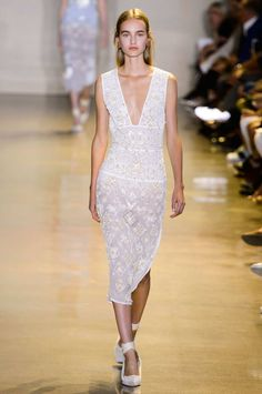 Textured white. SPRING 2016 RTW ALTUZARRA COLLECTION - The Cut