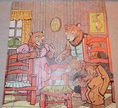 A Treasure Trove - 8 Antique Tony Sarg's Signed Circus Puzzles Transogram NY USA