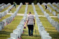 At West Tennessee Veterans Cemetery in Germantown, Tennessee, May 28, 2012.