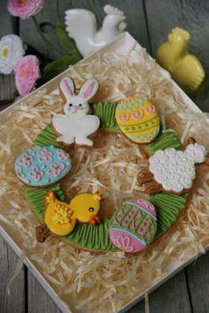 Wielkanoc, pierniczki,ciasteczka,pisanki,jajeczka,zajaczek Turza Śląska - image 2