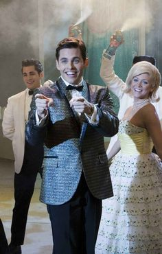 "James Marsden as Corny Collins in ""Hairspray."""
