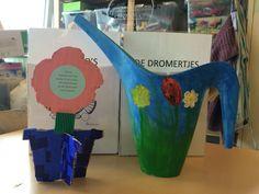 Moederdag - bloem - gieter