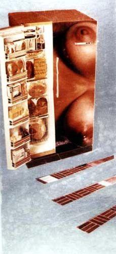 Cold Meat 1972 by Martha Rosler Jasper Johns, Feminist Art, Land Art, Conceptual Art, Photomontage, Pop Art, Collage, Cold, Meat