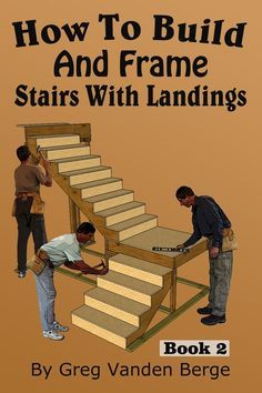 How To Build and Frame Stairs with Landings - YouTube Deck Stairs 5626bb727b8