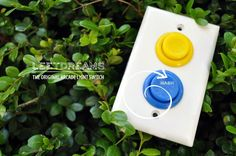 Working Arcade Light Switch by AlephDesign on Etsy. $35.00, via Etsy.