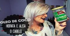 Não Perca!l Veja como alisar os cabelos de forma eficaz com óleo de coco - # #cabeloslisos #oleodecoco