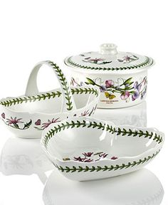 Portmeirion Dinnerware, Botanic Garden Gifts Collection - Serveware - Dining & Entertaining - Macy's