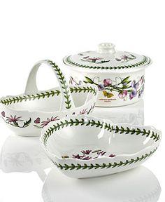 Portmeirion Dinnerware, Botanic Garden Gifts Collection - Serveware - Dining & Entertaining - Macy's