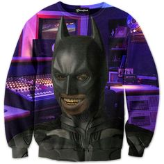 Getonfleek™ presents the dank Batmane tracksuit, a hilarious trap house rendition of the dark knight. Someone break into your stash again? Shine that infamous ice cream cone signal in the sky and Batmane is on his way. Who needs a batarang when you got gold plated grill, and who needs robin when you PAWG watching your back? Keep those beats fresh and that mix tape turning with your ghetto homeboy Batmane. Coming to the hood near you.