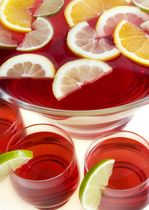 Sparkling Cranberry Punch (non-alcoholic)