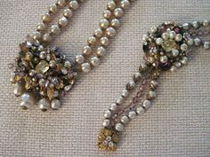 RARE and marvellous Miriam Haskell necklace & by AdoringVintage, $1600.00