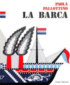 Paola Pallottino - cover from La Barca (Emme 1976)  #illustration #book #pallottino