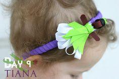 Day 9: Tiana Disney Princess Inspired Ribbon Sculpture Pattern