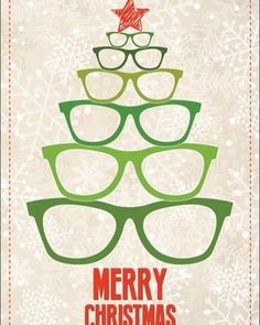 Gift idea for eye doctor. On towel, Christmas card, Optometry Humor, Optometry Office, Eye Facts, Optical Shop, Clinic Design, Eye Doctor, Holiday Greeting Cards, Eye Glasses, Signs