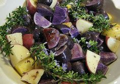 Recipe: Crispy Purple Potatoes (Vegan + Gluten Free)