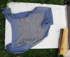 Past T-shirt, makig process  photo by Sofia Okkonen http://elinalaitinen.fi/