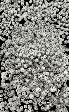 Most people see a pile of dice. I see the most epic fireball spell in D history.