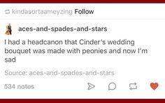 Cinders wedding