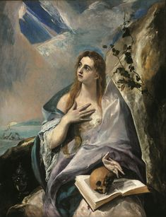 El Greco ca. 1541 – 1614 Mary Magdalene in Penitence oil on canvas × 121 cm) — 1578 Museum of Fine Arts, Budapest El Greco biography This work is linked to Luke Google Art Project, Maria Magdalena, Marie Madeleine, Kunsthistorisches Museum, Renaissance Kunst, Jesus Christus, Spanish Artists, Am Meer, Museum Of Fine Arts