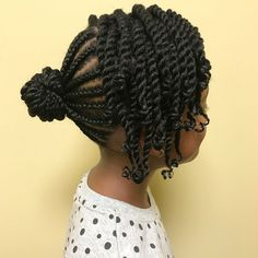 10 Cute Back to School Natural Hairstyles for Black Kids