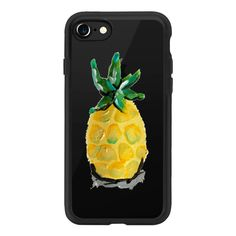 Pineapple Clear - iPhone 7 Case And Cover ($40) ❤ liked on Polyvore featuring accessories, tech accessories, iphone case, clear iphone case, apple iphone case, iphone cover case and iphone cases