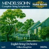 Mendelssohn: Complete String Symphonies, Vol. 1 [CD]