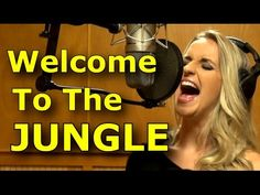 Gabriela Gunčíková - How To Sing Guns n' Roses - Axl Rose - Welcome To The Jungle cover- Ken Tamplin - YouTube