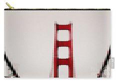 Pop Art Golden Gate Bridge Carry All Pouches,Tote Pouch,Handbag,San Francisco…