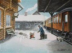 På perrongen, Lillehammer  (On the platform) - Kjell Midthun