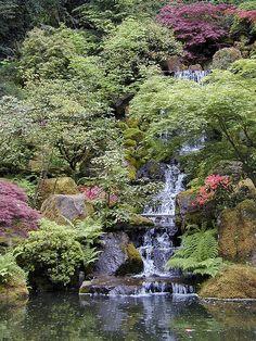 Portland Japanese Garden, Oregon, Garden Ideas, River, Explore, World, Outdoor, Lakes, Outdoors