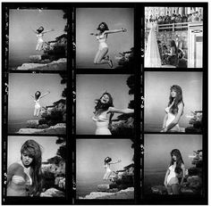 """Philippe Halsman - Brigitte Bardot Philippe Halsman Brigitte Bardot, Jump! 1959.  Boxed giclée print, 16x20"""", stamped with artist copyright stamp on verso and Magnum blind stamp on recto. Uneditioned."""