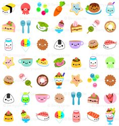 yummy foods by berrysprite. #food #kawaii