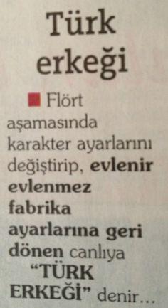 """""""Türk Erkegi"""" tarifi:)))"""