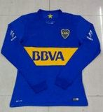 Boca Juniors 2015-16 Season LS Home Soccer Jersey