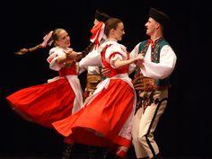 Spisz national costumes, a region in Poland in the Tatry range-dance looks like FUN.