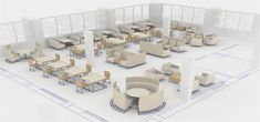 AGATI Design Coordinators use backgrounds in interior design to help library clients to lay out collaborative flex spaces after stacks are removed. Community Space, Blog Design, Design Ideas, Property Design, Study Space, Library Design, Learning Spaces, Stack Of Books, Kennesaw State