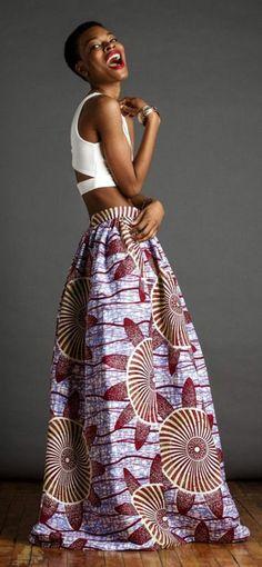 jupe longue t 40 en wax pagne africain sap comme jamais pinterest pagne africain. Black Bedroom Furniture Sets. Home Design Ideas