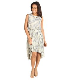 Kenneth Cole New York Printed Ikat Pleated Dress $44.99