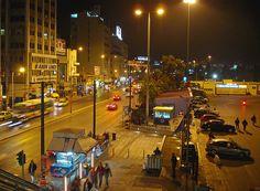 Port of Piraeus, Greece Attica Athens, Greece, Street View, Night, Live, Greece Country