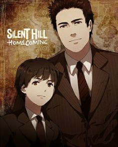 """Alex and Joshua (Silent Hill Homecoming) <3  This is great; makes me suddenly want there to be a """"Silent Hill"""" anime.  Really badly.  For each game."""