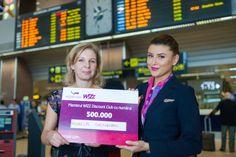 500 EURO pentru al 500.000-lea membru WIZZ DISCOUNT CLUB | Airlines Travel