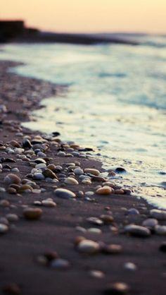 Pebble Beach iPhone 5 Wallpaper