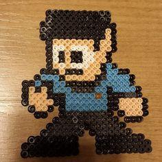Mr. Spock Star Trek perler beads by robozippy
