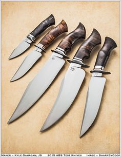 Knives of the 2015 Blade Show • Past homages, Future visions, Present skills •