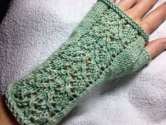 Ravelry: Sage Wisdom Mitts pattern by Gecko Yarns