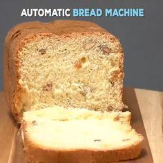 Mini At Home Bread Maker Machine - Bread Recipes Bread Maker Machine, Bread Machine Recipes, Bread Recipes, Cooking Recipes, How To Make Bread, Bread Making, Tasty, Yummy Food, Cool Kitchen Gadgets