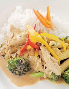 Kyllinggryte – Sunne oppskrifter fra Roede-kjøkkenet Healthy Recipes, Healthy Dinners, Healthy Food, Thai Red Curry, Poultry, Meal Planning, Nom Nom, Food Porn, Food And Drink