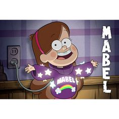 Disney Channel Gravity Falls Preview ❤ liked on Polyvore