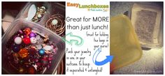 #EasyLunchboxes and Mini Dippers - not just for food.