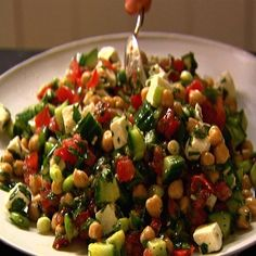 Middle Eastern Salad #Recipe, #stepbystep